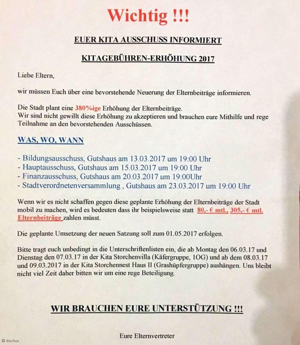 Erhoeht Altlandsberg 2017 die Kita-Gebuehren