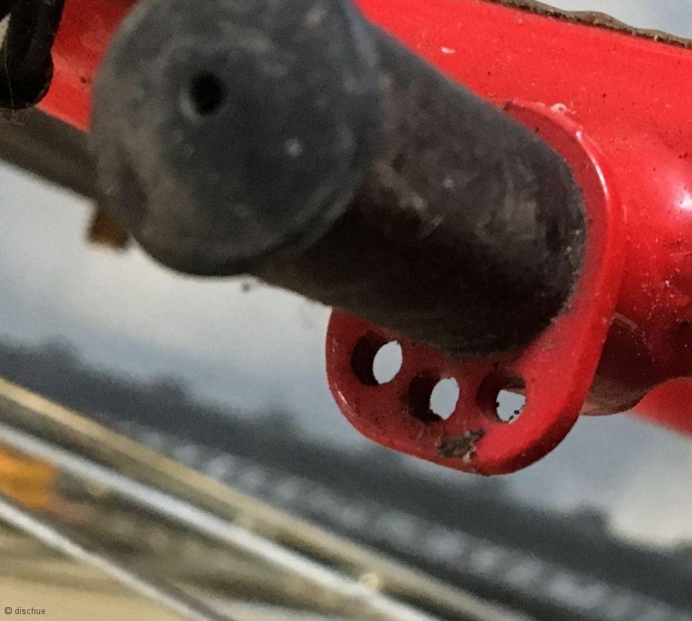 Fahrrad fit machen - Cantisockel