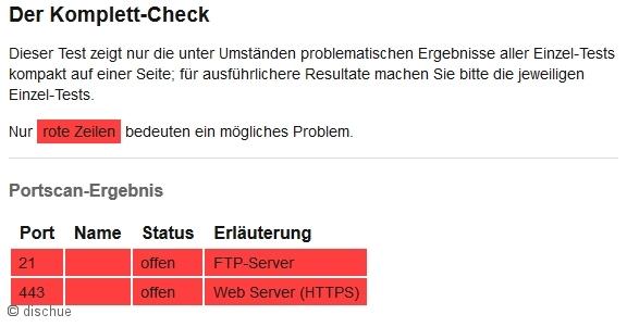 eigenen Router testen 2