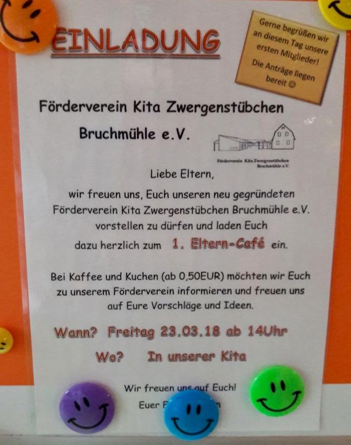 Förderverein Kindergarten Ideen