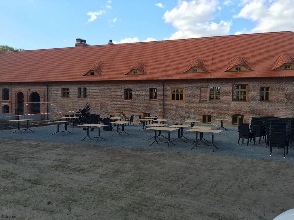 Brau- und Brennhaus Altlandsberg, Biergarten